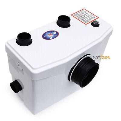 Sanitrit Trituratore Maceratore Wc Sanitario Lavandino Doccia Vasca 600W 240Lt 3