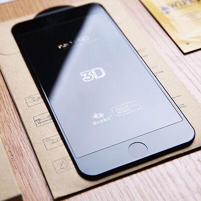 iPhone 6S/6/7/Plus 8/X VITRE EN VERRE TREMPE 3D Film Protection Ecran Intégral 6