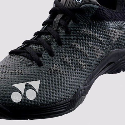 2018-19 Yonex AERUS 3 Mens Badminton Shoes SHBA3M Black, Power Cushion/Lightest
