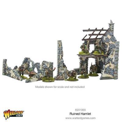 Farmhouse Ruins Set Terrain Reformatted Bolt Action 802010005 Ruined Hamlet