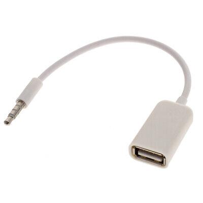 Cavetto Usb Maschio Jack 3,5 Mm Aux Audio Casse Mini Convertire Usb Femmina 4