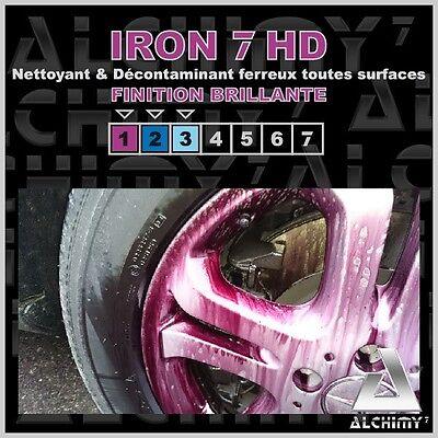 ALCHIMY7 IRON 7 HD 470 ml - Nettoyant & Décontaminant Ferreux