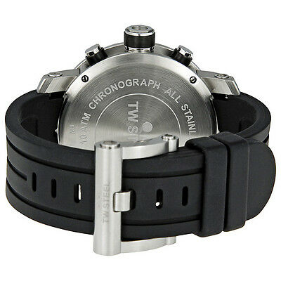 TW Steel Grandeur Tech 48mm Grandeur Tech Black Dial Chronograph Mens Watch TW1 3