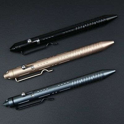 1pc Self Defense Tactical Military Pen Glass Breaker Aviation Aluminum Alloy 2