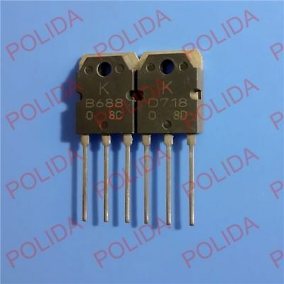 10 Paires KTB688//KTD718 2SB688//2SD718 B688//D718 TO-3P