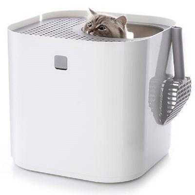 Black Modkat Cat Litter Box Modern Pet Toilet