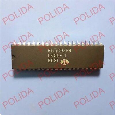 5PCS Microprocessor IC ROCKWELL DIP-40 R65C02P4 11450-14 R65C02P4E