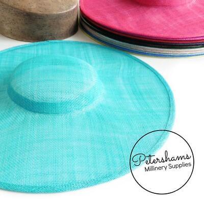 Cartwheel Sinamay Fascinator Hat Base for Millinery & Hat Making 3