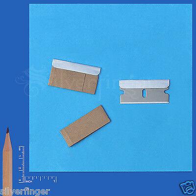 x20 Single Edge Razor Blades • Safety Utility Knife Scraper Tool Replacement 009