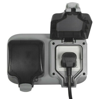 BG Masterplug EVH132S1SP Electric Vehicle Charger 2.3kW Electric Car Charging 2
