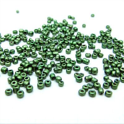 1000pcs Loose Charm 2MM round Czech Glass Seed Beads DIY Jewelry Making 4