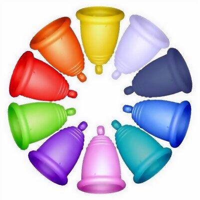 Me Luna Menstrual Cup - 8 sizes - 3 handles - 13 colours