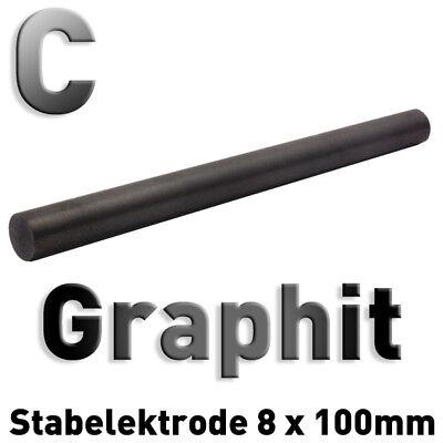 Refraktärmetalle Rund Stab 8 x 100 mm Element Probe Anode Elektrode 3