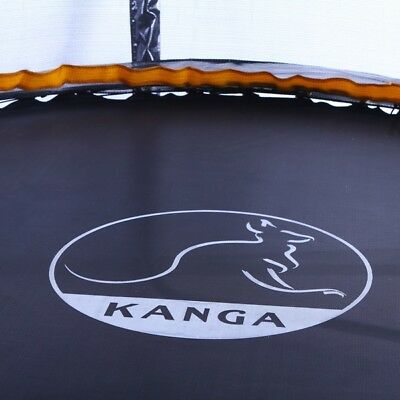 KANGA 8ft Premium Trampoline With Enclosure, Safety Net, Ladder & Anchor Kit 5