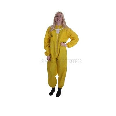 Buzz Basic Beekeepers Suit With Fencing Veil And Gloves - Yellow *All Sizes* 7
