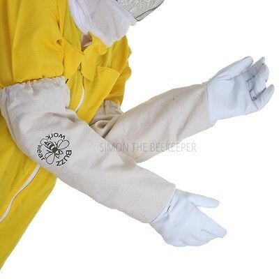 Buzz Basic Beekeepers Suit With Round Veil, Fencing Veil And Gloves - Yellow 5