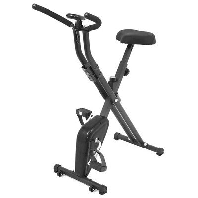 Esprit BIKE-X Foldable Exercise Bike BLACK Fitness Weight Loss Machine 4