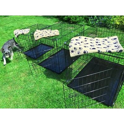 Small Medium Large XL XXL Pet Dog Cage Crate Foldable Carry Transport Carrier 4