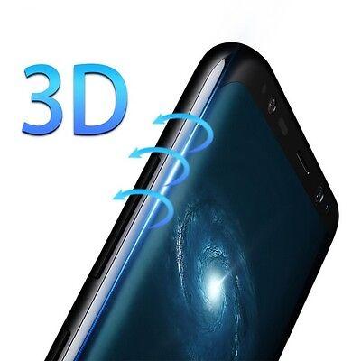 Pellicola Vetro Temperato Curvo Per Samsung Galaxy S8-S8 PLUS proteggi schermo 2