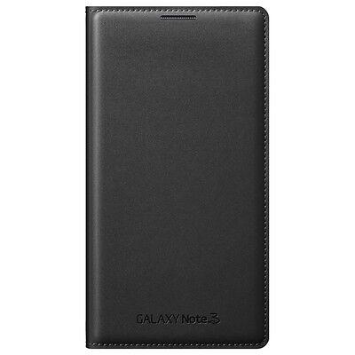 new styles 23da8 27d85 GENUINE SAMSUNG LEATHER FLIP CASE Galaxy NOTE 3 SM N9005 smart phone book  cover