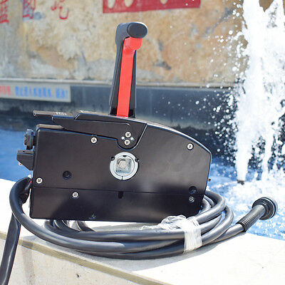 Mercury Outboard Engine Side Mount Remote Control Box With 14 Pin Spiffy