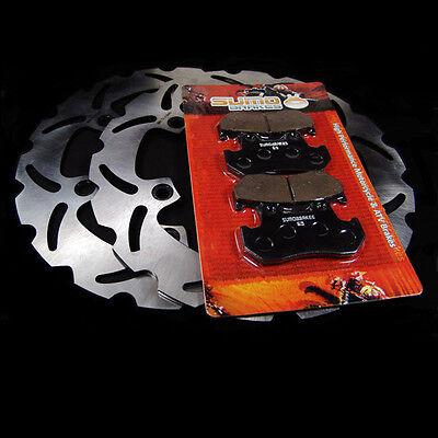 84-85 750 Honda Front Brake Rotor+Pads VF700 1000 1100 CB CBX 750 1982-84
