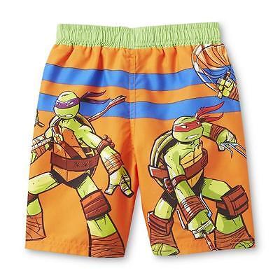 a58f3a6e3a ... Nickelodeon Teenage Mutant Ninja Turtles Toddler Boy's Swim Trunks 2T  and 4T NWT 2
