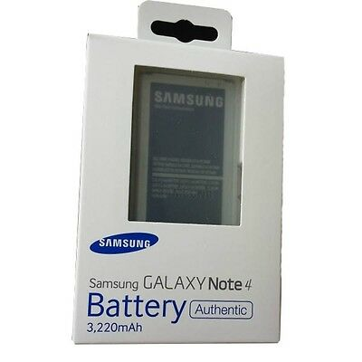 ... Original SAMSUNG Galaxy Note4 IV SM-N910 3220mAh Battery & Charger & Cable ...