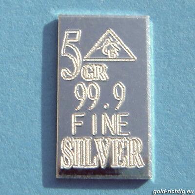 10x Silberbarren je 0,324 Gramm = 3,24g Silber Barren MUTTERTAG 13.5. Geschenk 3