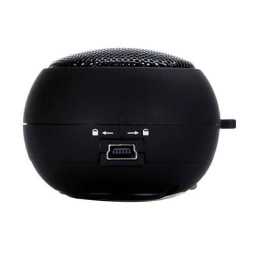 Portable Mini Hamburger speaker Travel Speaker for iPhone iPod MP3Laptop Tablet