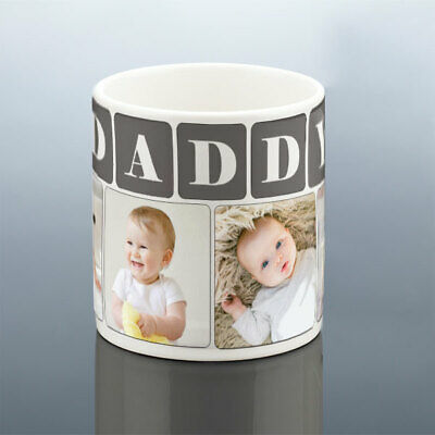 DADDY PHOTO MUG Personalised Birthday Gift Best Dad Cup New Dad Birthday Present 3
