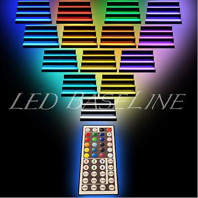 """32"""" LED Color Changing Bar Shelf bottle Glorifier 2 Step 6"""