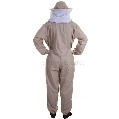 Buzz Basic Beekeeping Suit With Fencing Veil, Spare Round Veil And Gloves -Khaki 5