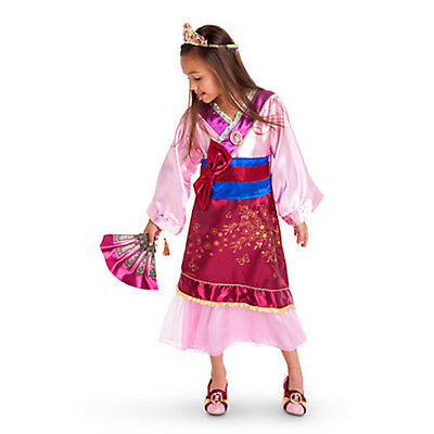 1 of 4 NWT DISNEY STORE PRINCESS MULAN COSTUME DRESS GOWN KIMONO 7/8 9/10 Girls  sc 1 st  PicClick & NWT DISNEY STORE PRINCESS MULAN COSTUME DRESS GOWN KIMONO 7/8 9/10 ...