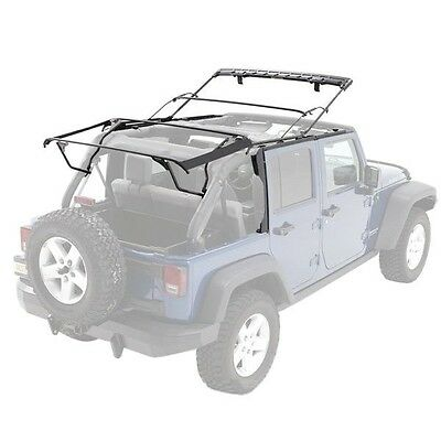 ... 2010 2017 Jeep Wrangler Unlimited Soft Top Hardware Kit With Surrounds  U0026 Frame