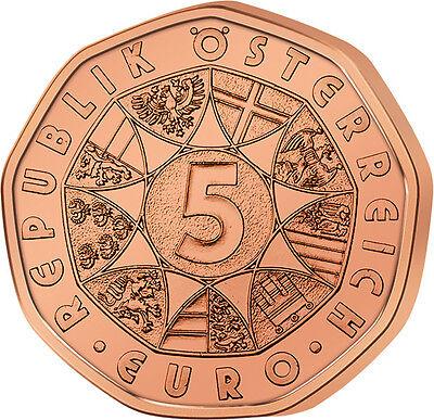 5 Euro Münze Albrecht Dürer Hase Feldhase österreich 2016