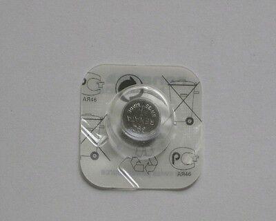 1x Renata 371 Uhren-Batterie Knopfzelle SR920SW AG6 Silberoxid Blisterware Neu 2