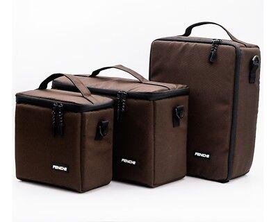Camera Bag Padded Insert Carry Case Partition For DSLR SLR Canon Nikon Sony Lens 4