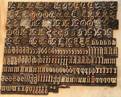 Prägeschrift Fraktur 10mm Messingschrift Buchbinder Messing Buchbinden Schrift 2