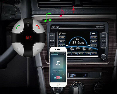 Handsfree Wireless Bluetooth FM Transmitter Car Kit Mp3 Player with USB Charger 9