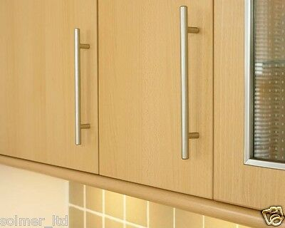 Superb T Bar Handles Kitchen Bedroom Cabinet Door Handles 96Mm To 640Mm Sizes Beutiful Home Inspiration Ommitmahrainfo