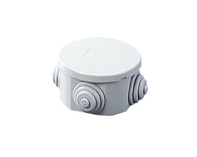 25x IP44 Water proof Garden 65x65x30mm Junction Boxes Outdoor Connection Boxes