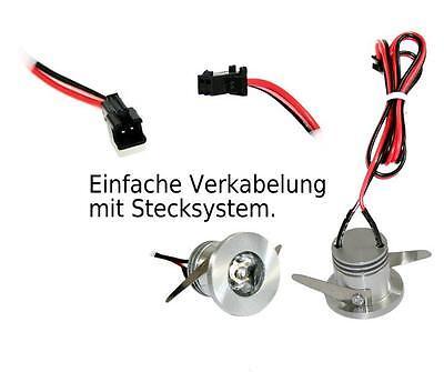 LED SPOT STRAHLER Mini Einbauleuchten IP44 ww Innen & Aussen ...