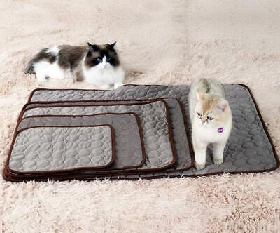 Dog Cooling Mat Pet Ice Pad Teddy Mattress Cat Cushion Summer Keep Cool Bed Gel 8