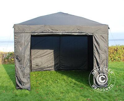 Tente Pliante Tonnelle Barnum Pliable 3x3 m Chapiteau Tente de Réception jardin 2