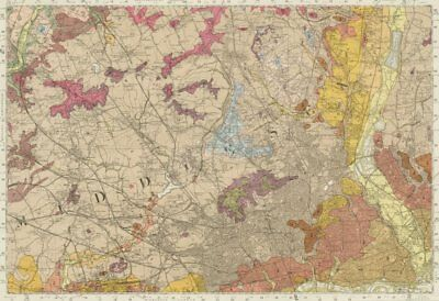 North West London geological survey sheet 256 West End Watford Harrow 1964 map 2