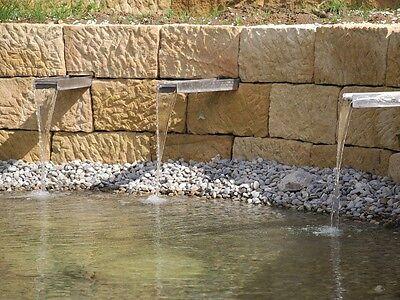 Buntsandstein natursteinmauer bruchsteine trockenmauer for Garten bruchsteine