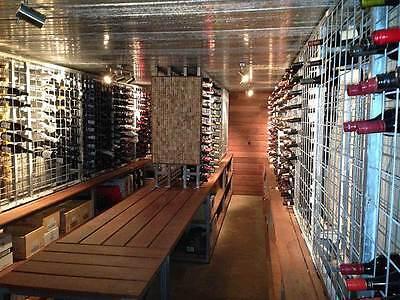 Galvanised Steel Metal Wine Storage Rack 216 Bottles 4