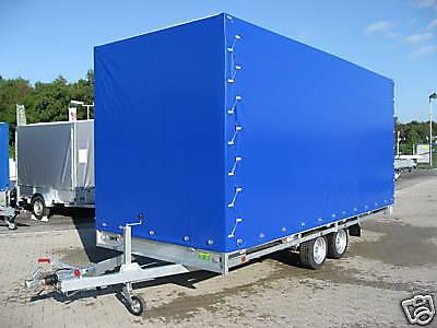 Hulco 3,0to. PKW Anhänger Hochlader 5,02x2,03x2,0m Neu 2