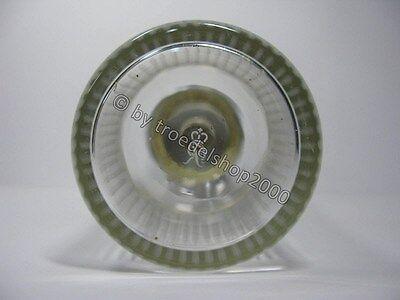 e4) alter Rosenthal Cocktailshaker Shaker Kristall Glas versilbert Rarität 1960 7